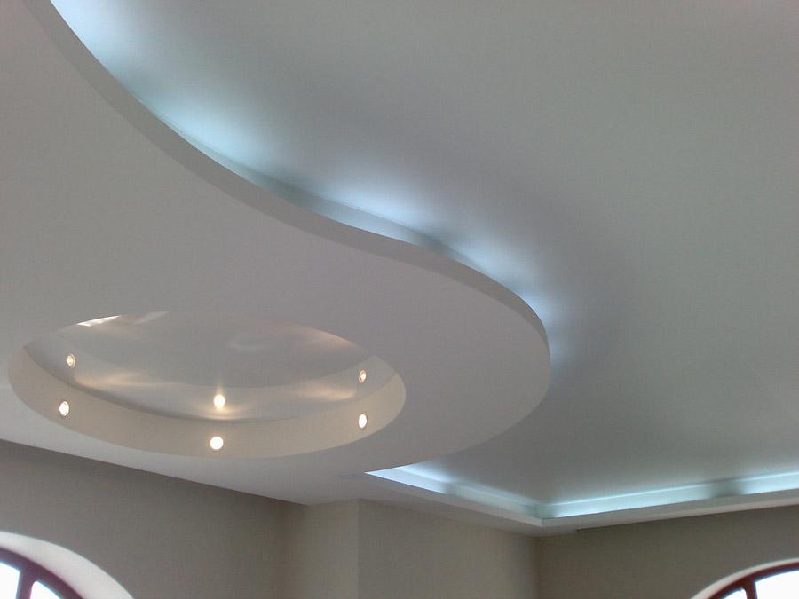 Виды подвесных потолков фото